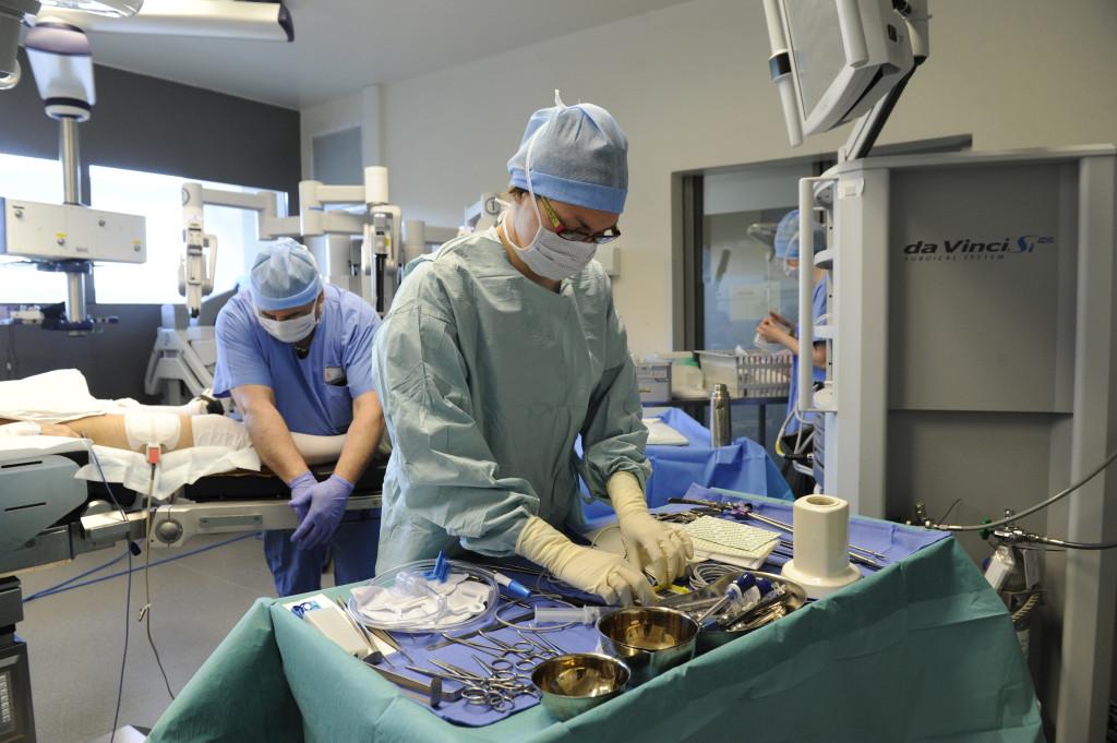 Préparation du patient et du matériel