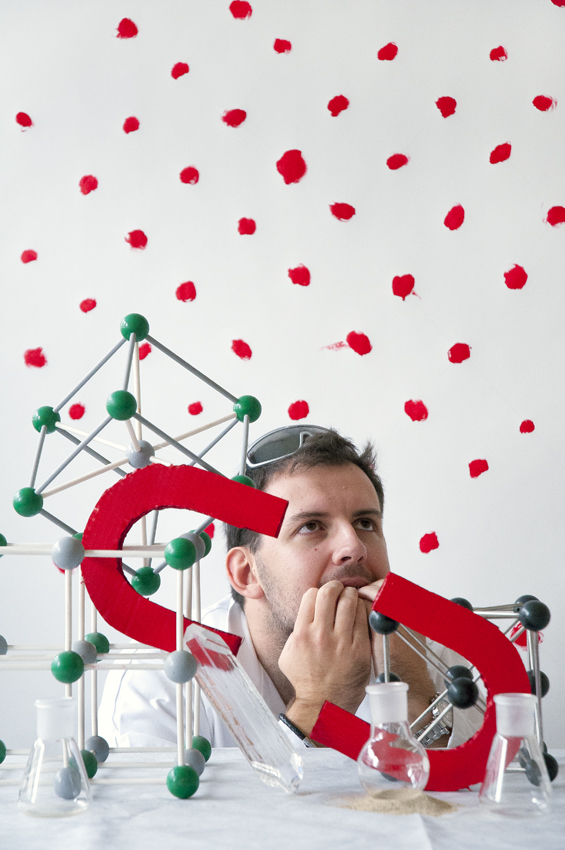 These's art: Anthony Lannes et les aimants moléculaires