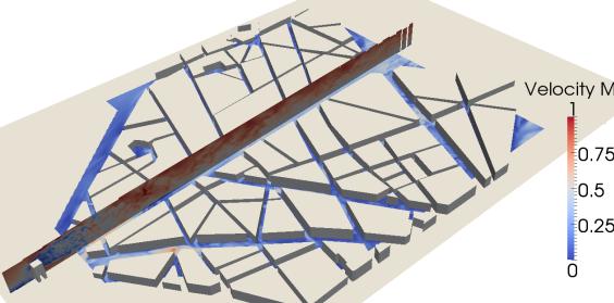 Modélisation d'écoulement d'air en milieu urbain. Des recherches en urbanisme face au changement climatique