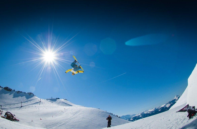 Risques et snowboard : la quête d'esthétique des snowboardeurs